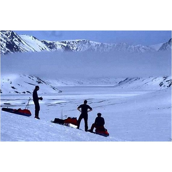 East Greenland in Winter