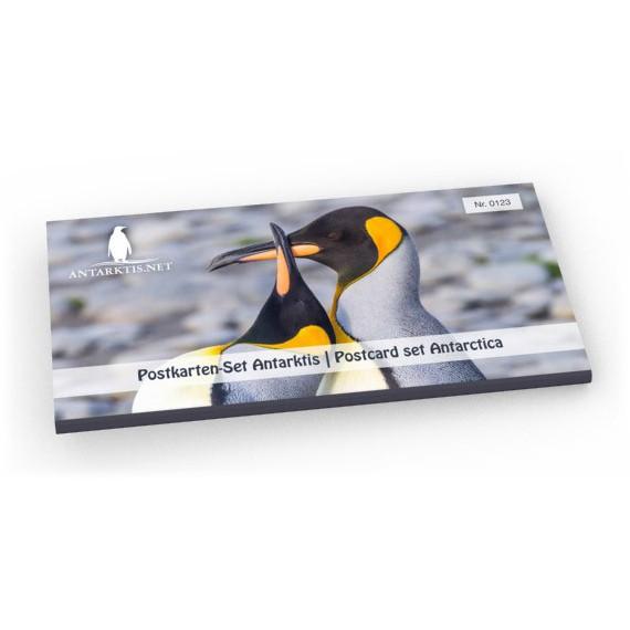 Postkort sett Antarktis