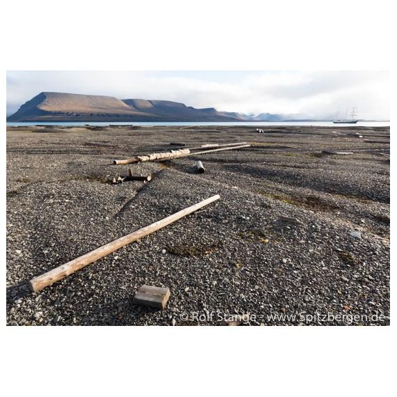 Bilderrahmen aus Spitzbergen-Treibholz