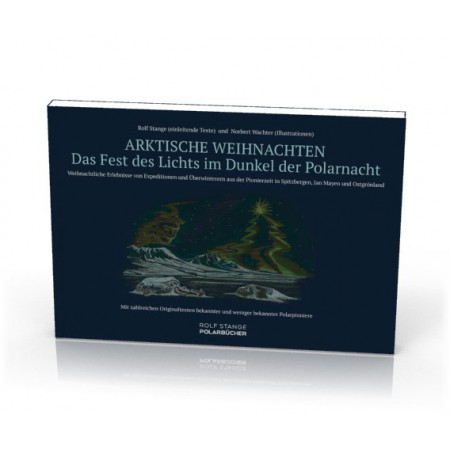 Arktische Weihnachten. The arctic Christmas book (German). Cover