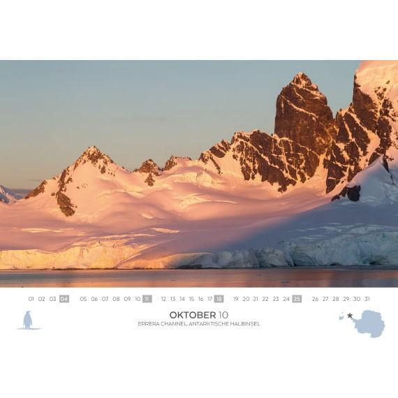 Dobbelkalender 2020: Svalbard og Antarktis