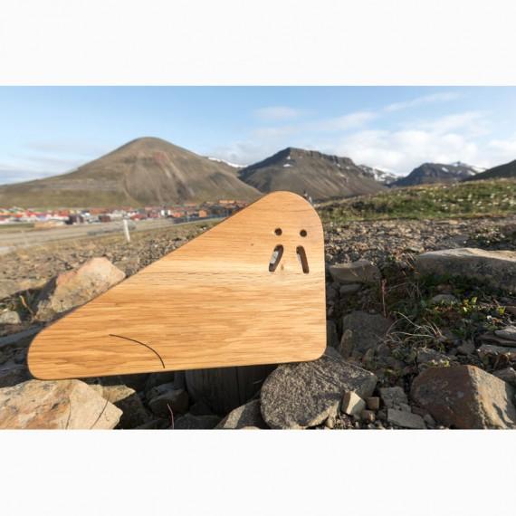 Spitzbergen-Küchenbrettchen aus Longyearbyen