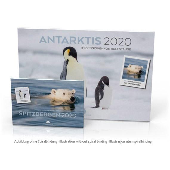 Doppelkalender 2020: Spitzbergen und Antarktis