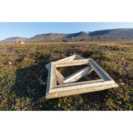Svalbard drivved bilderamme 2019