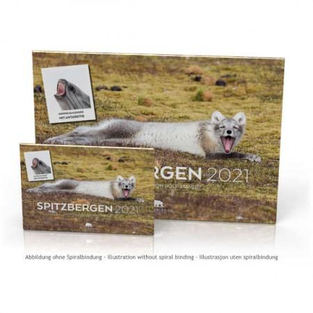 Dobbelkalender 2021: Svalbard og Antarktis