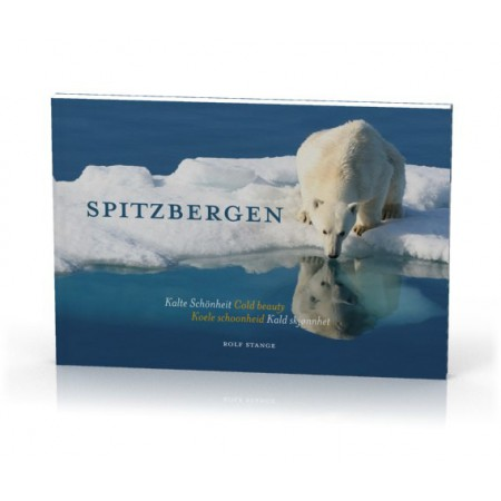 Spitsbergen – Cold Beauty – Svalbard photo book: Cover, showing a polar bear