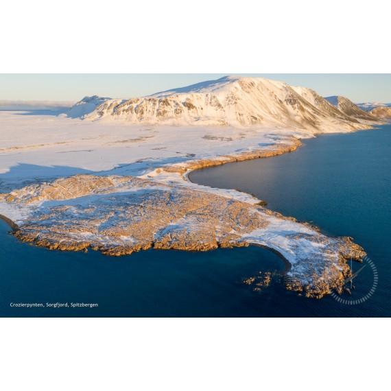 Skjermsparer: Aerial Arctic