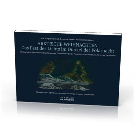 Arktische Weihnachten. The arctic Christmas book (German). Cover