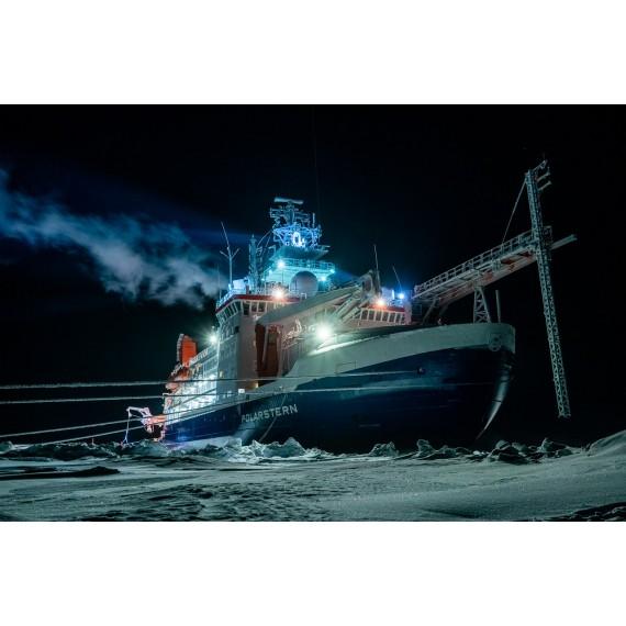 Online-Vortrag von Udo Zöphel, 3.3.: 100 Tage in der Polarnacht am Nordpol – Die MOSAiC Expedition im Winter