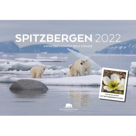Spitzbergen Kalender 2022: Titelbild 1 (Vorderseite)