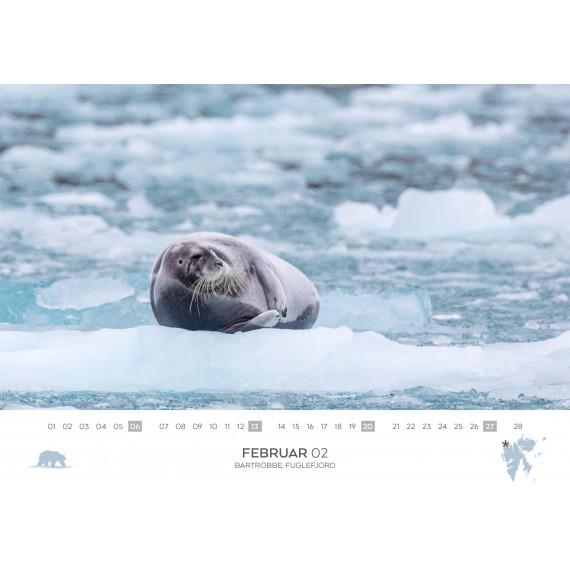 Doppelkalender Spitzbergen 2022