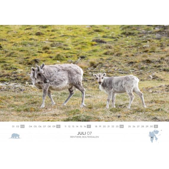 Spitsbergen calendar 2022 (double calendar)