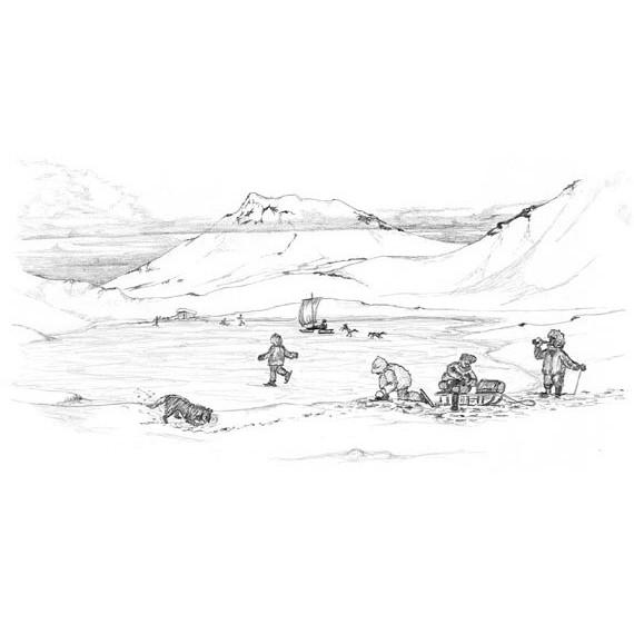 Arktische Weihnachten - Das Fest des Lichts im Dunkel der Polarnacht